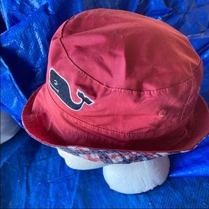 Vineyard Vines reversible bucket hats